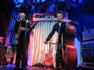 Marty Ehrlich & Chris Wood 2012-12-15 @Blue Note, NYC, NY
