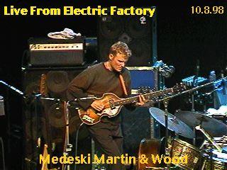 Chris Wood 1998-10-08 @Electric Factory, Philadelphia, PA