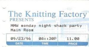 1996-09-23 ticket stub
