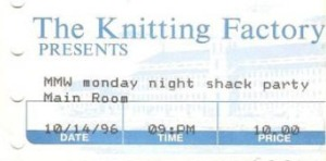 1996-10-14 ticket stub