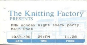 1996-10-21 ticket stub