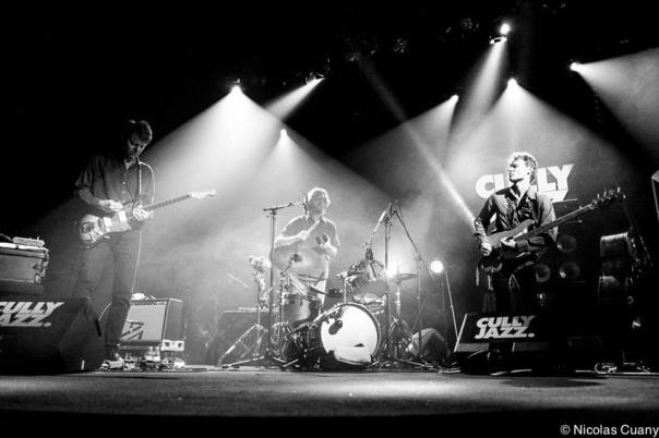 Nels Cline, Billy Martin, & Chris Wood 2014-04-05  @Cully Chapiteau (Cully Jazz 2014), Cully, Switzerland