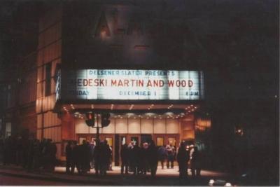 MMW 2000-12-01 @Palace Theatre, Albany, NY